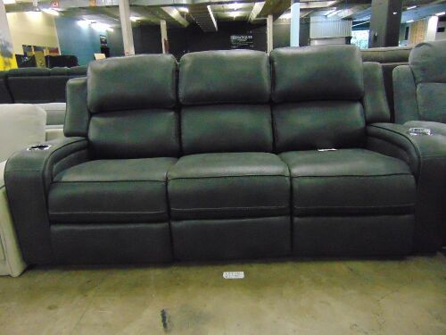 BRADFORD Fabric 3 SEATER RECLINER Lounge- CHA