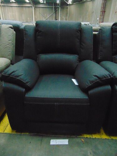 GAUCHO Fabric Single Seater Electric Recliner - JET