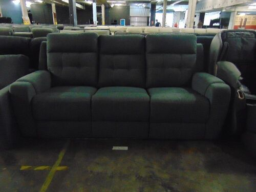 LAREDO Fabric 3 seater recliner Lounge *DKG