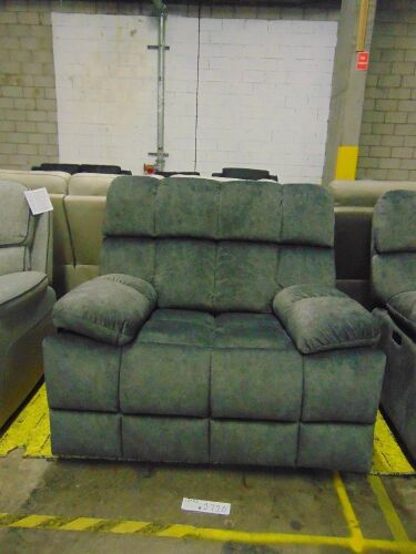 AXEL Fabric single seater electric recliner - GUN