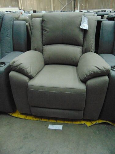 GAUCHO Fabric Single Seater Electric Recliner - MIST