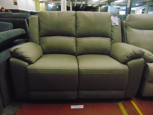 GAUCHO Fabric 2 seater RECLINER Lounge - MIST