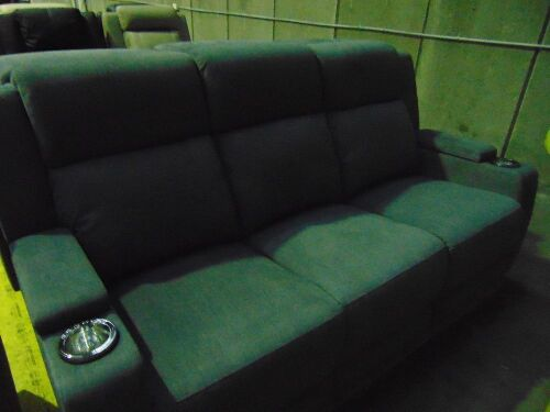 LEMAN Fabric 3 SEATER Lounge 3EE- LAVA