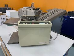 Superfax PF-110 Paper Folding Machine - Unreserved