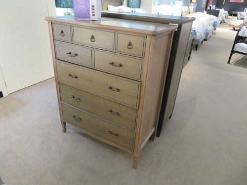 Elise Tallboy, 8 Drawer, 960 x 540 x 1200mm H