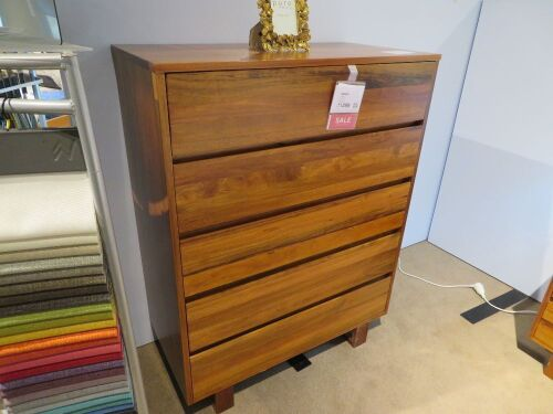 Islington Tallboy, 5 Drawer