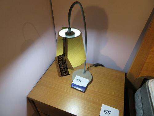 Boozer Table Lamps, Grey Shade, 550mm H