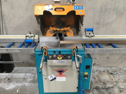 2014 Yilmaz ACK420S Aluminium Pop Up Docking Saw, Serial No: 0121414070018