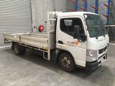 2014 Mitsubishi Fuso Canter 7/800 Duonic Tray Truck, 4200 x 2000mm Tray