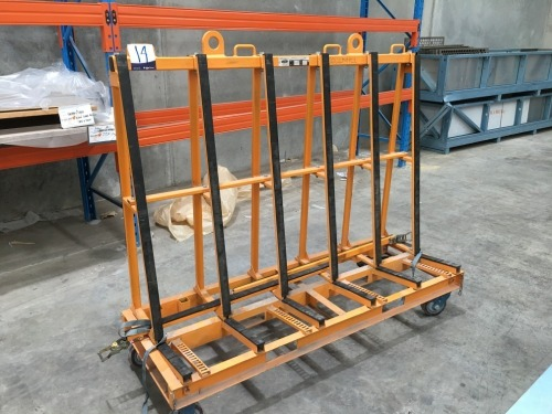 Bremner Glass Transport Trolley, 2000Kg capacity