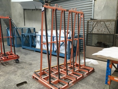 Abaco Glass Transport Trolley, 2000Kg capacity