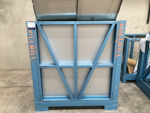 Aluminium Constructed Stillage, Forkliftable, 1850mm L x 1400mm H x 1400mm