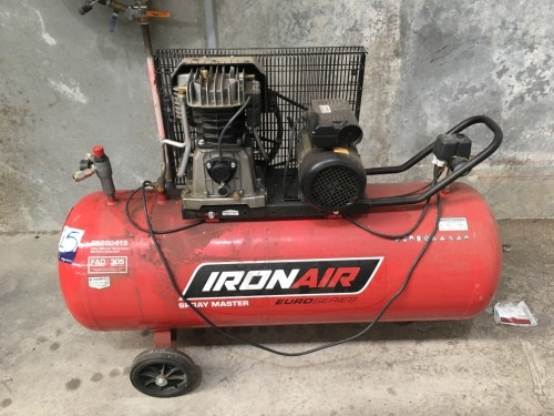 2017 Iron Air 3HP Portable Air Compressor
