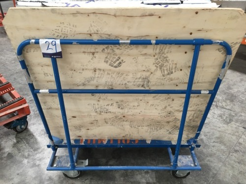 Panel Transporting Trolley, Single Sided, 1200mm & contents of Stock