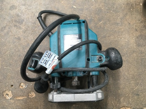 Makita 1000 watt Router, 240 volt