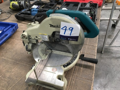 Makita LS1040 255mm Drop Saw, 240 volt