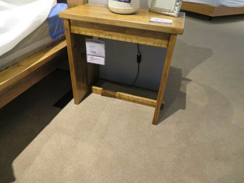 2 x Daintree Bedside Tables, colour: Natural, 600 x 360 x 580mm H