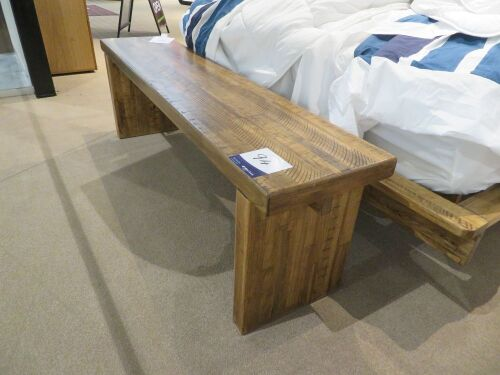 Daintree Bench, colour: Natural, 1600 x 350 x 500mm H