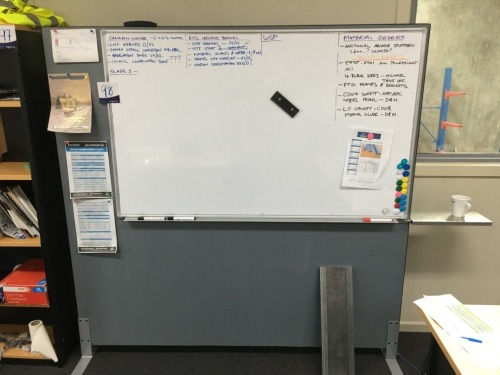 Whiteboard on Stand