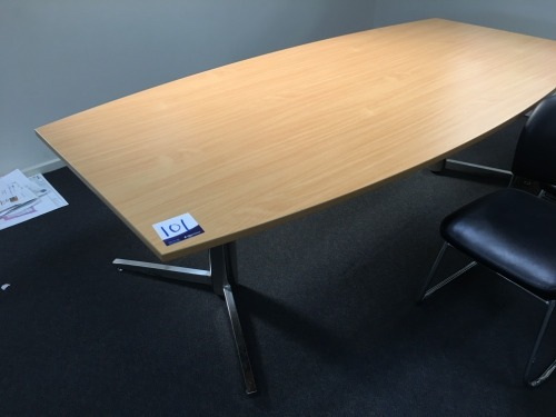 Boardroom Table, 2400 x 1200mm, Laminate