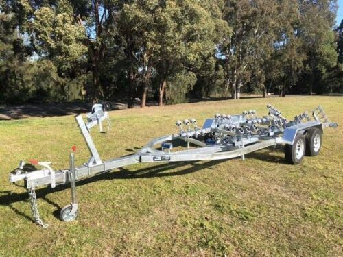 New - 2019 Boat Trailer - Heavy Duty Galvanised Dual Axle