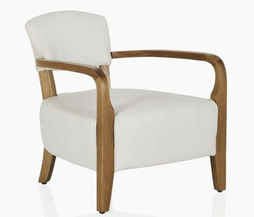 1 x Timothy Oulton Cabana Chair, weathered Oak Timber frame