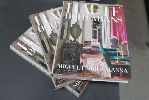 3 x Haute Bohemians by Miguel Flores-Vianna Style, Design & Interior Design Coffee Table Book