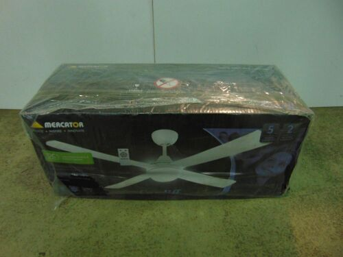 Mercator 'Cardiff' 1300mm Ceiling Fan - White