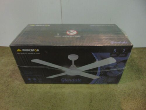 Mercator 'Glendale' 1200mm Ceiling Fan - White