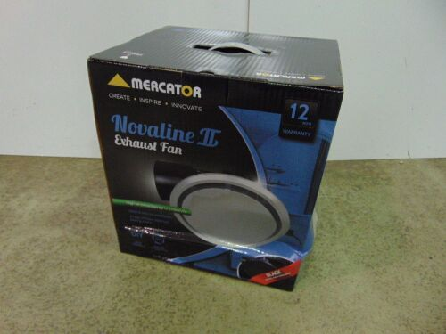 Mercator 'Novaline II' Exhaust Fan Round 240 - White Facia