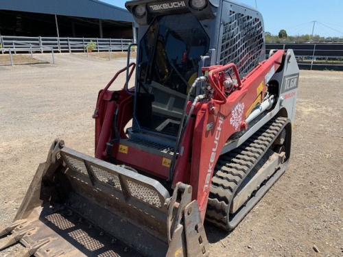 2017 Takeuchi Skid Steer Loader (Location: Haigslea, QLD)
