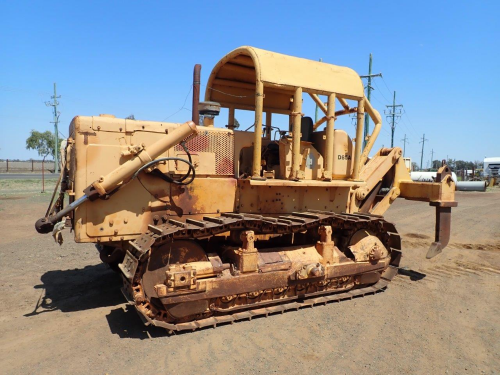 Komatsu D85A-12 Crawler Dozer, Cummins Eng, 4,200mm Blade, Rear Rippers