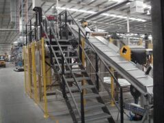 AUTOMATIC FORM, FILL, SEAL, BAGGING & PALLETISING MACHINE UP TO 25KG BAGS. BUILT: 2008. Manufactured by BTH (Now called Premiere Tech Chronos) - 23