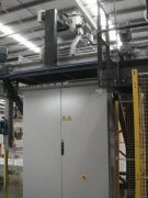 AUTOMATIC FORM, FILL, SEAL, BAGGING & PALLETISING MACHINE UP TO 25KG BAGS. BUILT: 2008. Manufactured by BTH (Now called Premiere Tech Chronos) - 25