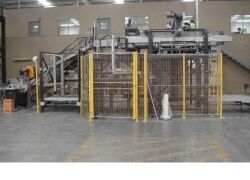 AUTOMATIC FORM, FILL, SEAL, BAGGING & PALLETISING MACHINE UP TO 25KG BAGS. BUILT: 2008. Manufactured by BTH (Now called Premiere Tech Chronos) - 31