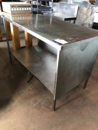 Stainless Steel Bench & Shelf
