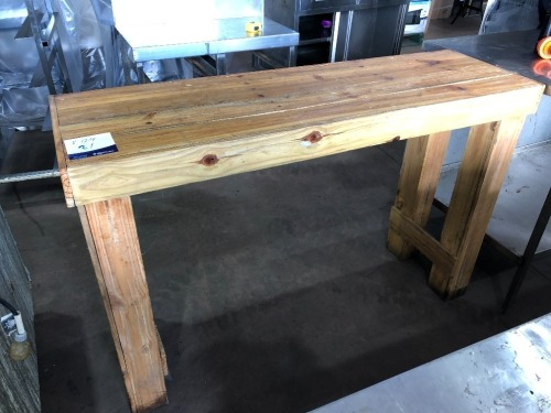 Timber Bench, 1430 x 430 x 930mm H