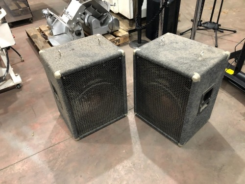 2 x Commercial Speaker Boxes