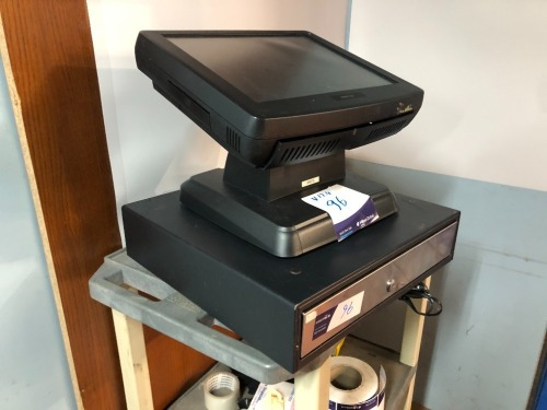 Posiflex Touch Screen KS7300 Series & Cash Drawer