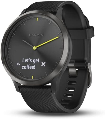 Garmin Vivomove HR Smart Watch with Activity Tracking - Black - 010-01850-11