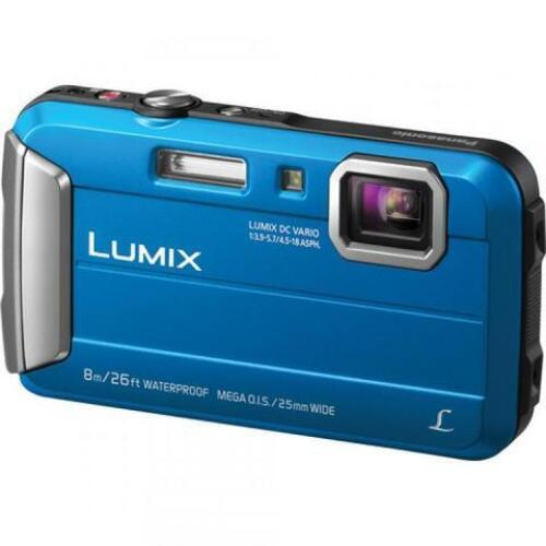 Panasonic Lumix FT30 Tough Camera Blue - DMC-FT30GN-A