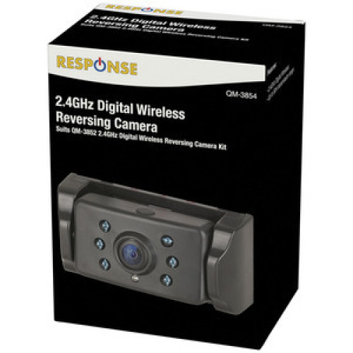 Response Spare Wireless Camera to suit QM-3840/QM-3852 Reversing Camera Kits - QM3854