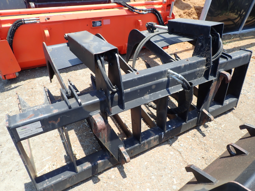 HIMAC Hydraulic Grab for FEL or Telehandler (Location: Haigslea, QLD)