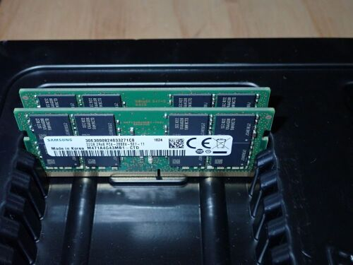 Quantity of 2 x 32gb Laptop Ram
