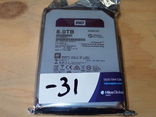 Western Digital 8tb HDD