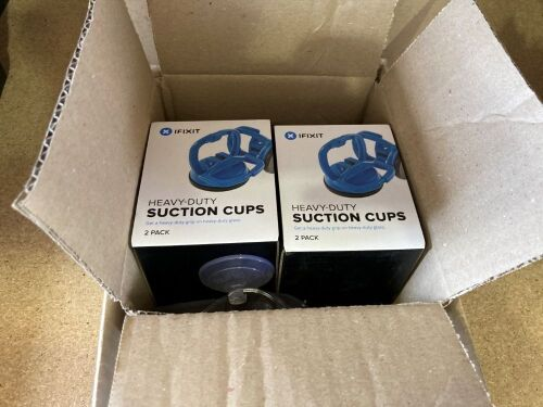 Quantity of assorted opening kits and suction cups