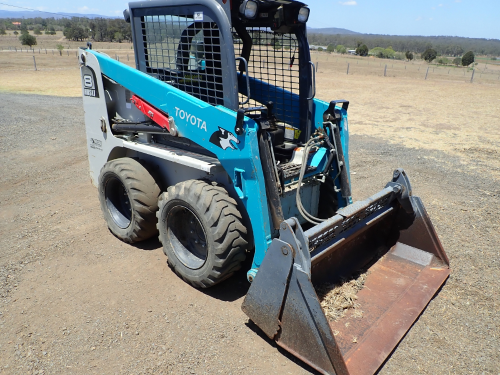 2018 Toyota Skid Steer Loader (Location: Haigslea, QLD)