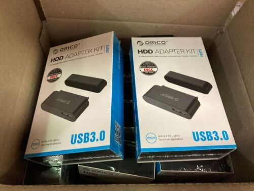 Quantity of 12 x Orico HDD USB 3.0 adapter kits