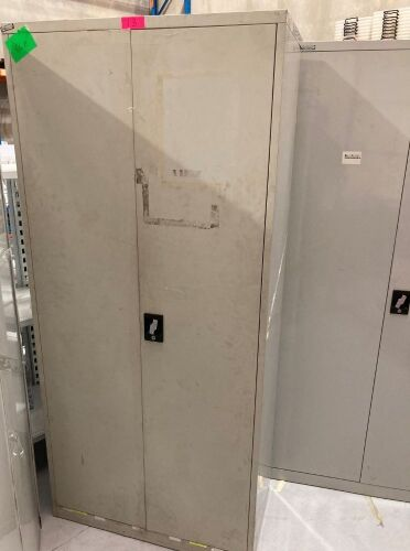 Quantity of 6 x Metal Cabinets