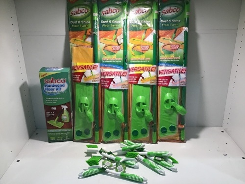 Bulk Lot Sabco Cleaning Products